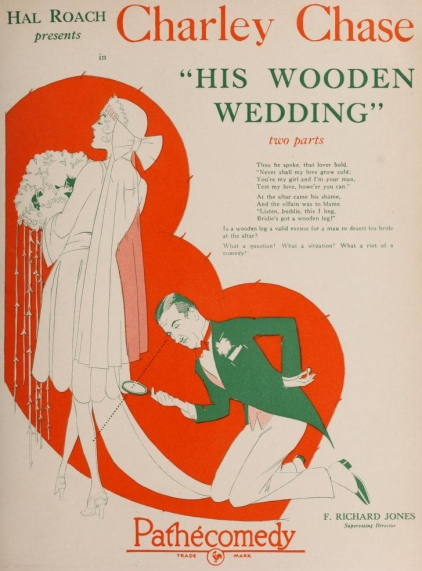 Charlie rate son mariage (His Wooden Wedding, 1925) de Leo McCarey