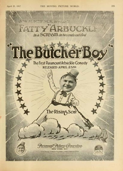 Fatty boucher (The Butcher Boy,1917) de Roscoe Arbuckle